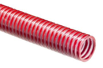Tuyau alimentaire en PVC transparent avec spirale PVC